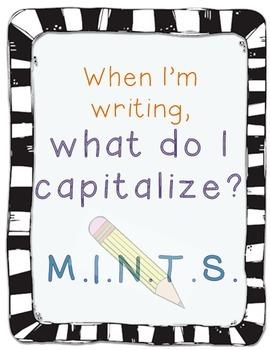 M.I.N.T.S. Capitalization Poster