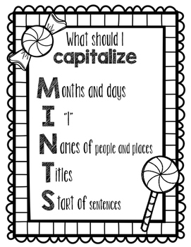 MINTS Capitalization Poster