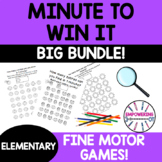 MINUTE TO WIN IT BUNDLE! occupational therapy distance learning visual motor