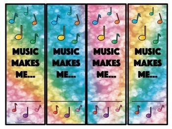 MIOSM Music Makes Me... Bookmarks
