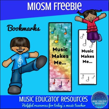 MIOSM Music Makes Me... Bookmarks