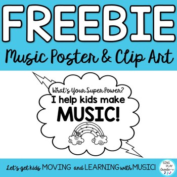 """Freebie: Music MIOSM Poster """"WHAT'S YOUR SUPER POWER?"""" I h"""