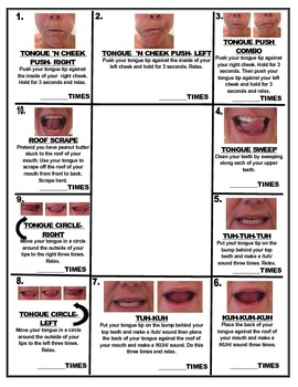Mirror mirror on the wall tongue exercises for all for Oral motor exercises for adults