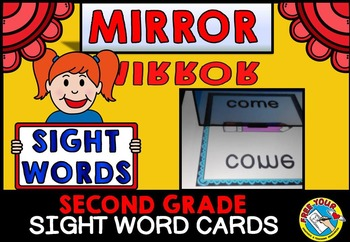 MIRROR SIGHT WORDS ACTIVITY: SIGHT WORD GAMES FOR SECOND GRADE
