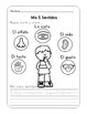 MIS 5 SENTIDOS -  MY 5 SENSES WORKBOOK SPANISH Version