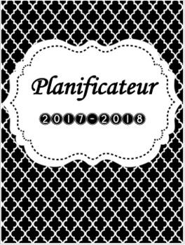 MISE À JOUR À VIE!  Planificateur/Agenda ; Teacher binder in French!