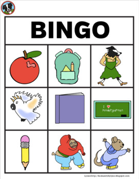 MISS BINDERGARTEN GETS READY FOR KINDERGARTEN BINGO