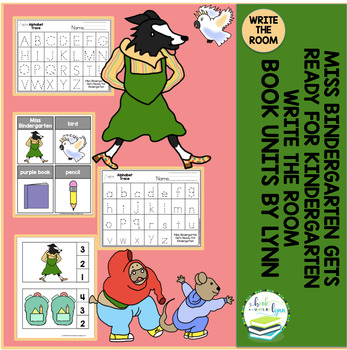 MISS BINDERGARTEN GETS READY FOR KINDERGARTEN BOOK WRITE THE ROOM