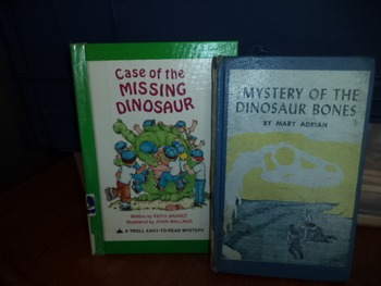 MISSING DINOSAUR    MYSTERY OF THE DINO     (SET OF 2)