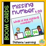 MISSING NUMBER - BOOM CARDS