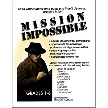 MISSION IMPOSSIBLE Gr. 1-6