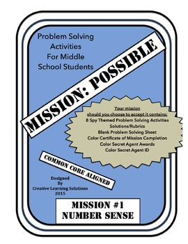 MISSION:POSSIBLE-Problem Solving Activities for Middle Sch