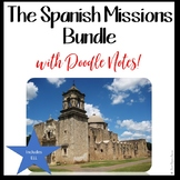 MISSIONS OF TEXAS BUNDLE