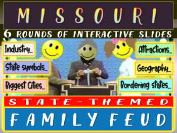 MISSOURI FAMILY FEUD! Engaging game about cities, geography, industry & more