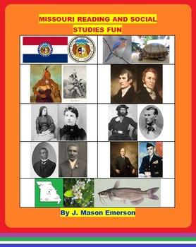 MISSOURI READING AND SOCIAL STUDIES FUN  (CCSS, SOME SPANI