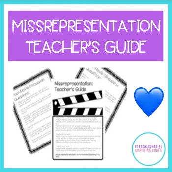 MISSrepresentation Teacher Guide Freebie!