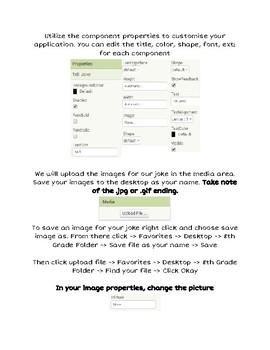 MIT App Inventor Basic Joke Teller Application