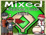 MIXED Multiplication & Division Baseball
