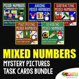 Add and Subtract Mixed Numbers, Multiply & Divide Mix Number Activity Bundle