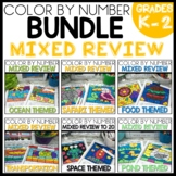 MIXED REVIEW TO 20 COLOR BY NUMBER BUNDLE  Themed