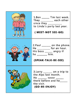 MIXED TENSES (Simple-Present - Past Simple-Past Continuous- Will