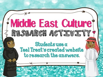 Middle East Culture Website Hunt