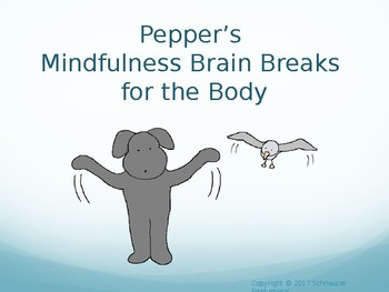 Mindfulness Brain Breaks With Pepper
