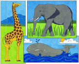 Mini Animal Murals