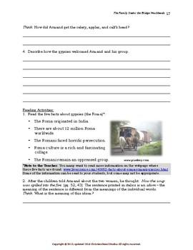 Mini-Guide for Juniors: The Family Under the Bridge Workbook