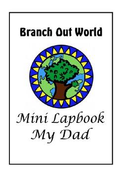 Mini Lapbook ~ My Dad (US spelling)