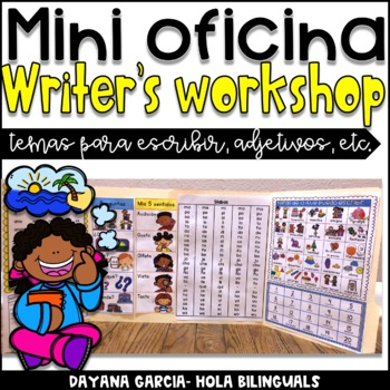 Mini Oficina- Writer's workshop mini office {SPANISH}