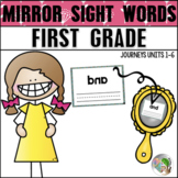 Mirror Sight Words (Journeys Sight Words First Grade Units 1-6 Supplement)