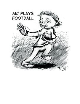 MJ Plays Football