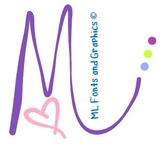 ML Fonts and Graphics Logo