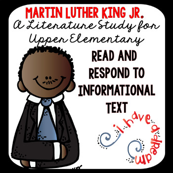 Martin Luther King Jr. Reading and Writing