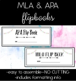 MLA & APA Flipbook Bundle-BOTH FORMATS!