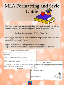 MLA Book Citation Intorduction for Students
