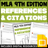 MLA CITATION WORKSHEETS Activities and Quizzes for Reading