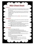 MLA Cheat Sheet