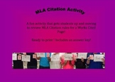 MLA Citation Activity