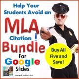 MLA Citation | Digital Notebook for Google Slides | Bundle