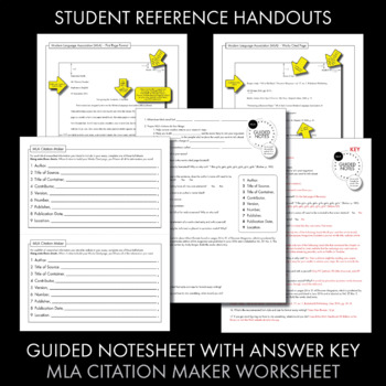 notes works cited page On this page: class lectures, handouts & presentations  note: for your works  cited list, all citations should be double spaced and have a.