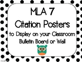 MLA Citation Posters - 7th Edition
