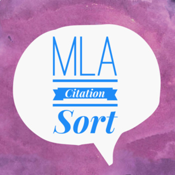 MLA Citation Sort