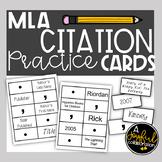 MLA Citation Practice Cards