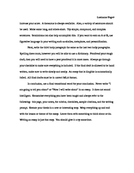 MLA Essay Format Guide.  An MLA essay about how to write a MLA essay.