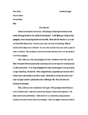 MLA Essay Format Guide.  An MLA essay about how to write a