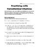 MLA Exercises #3: Parenthetical Citations
