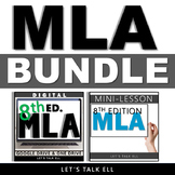 MLA FORMAT MINI-LESSON & GUIDE BUNDLE WITH DIGITAL EXERCISES