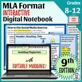 MLA Format 9th Edition Interactive Slideshow   Plagiarism